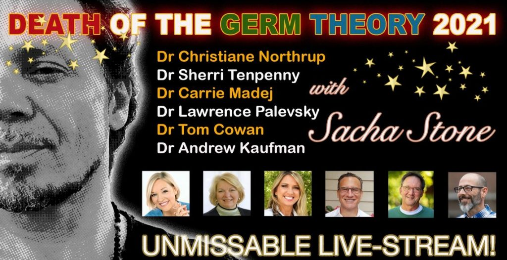 Death of the Germ Theory – Sacha Stone avec Dr. Kaufman, Dr. Tenpenny etc.. [VOSTFR auto-gen]